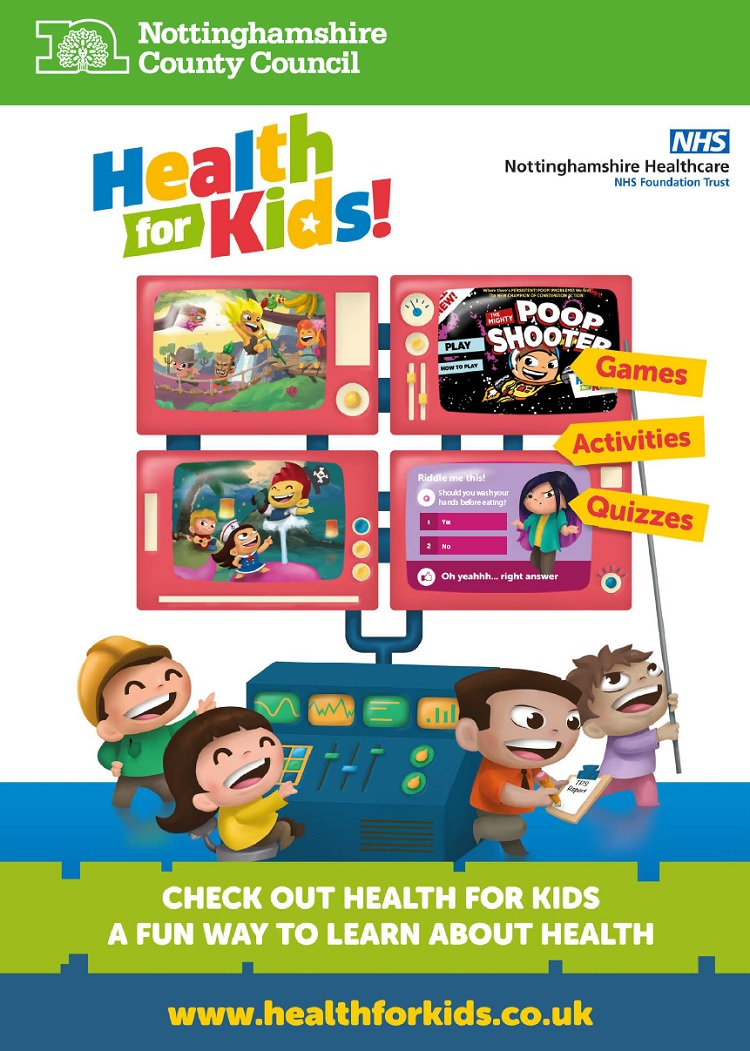 health for kids poster